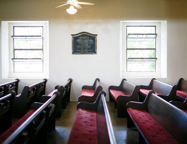 歴史を重ねた本格派教会