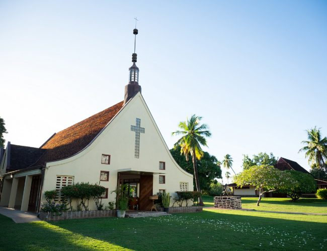 ワイオラ教会~王族に愛されたマウイ最古の教会~