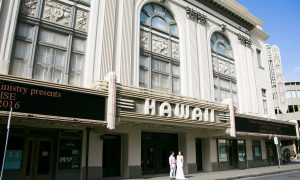お気に入りタウン「Down Town」- Hawaiiの人気のタウン撮影-