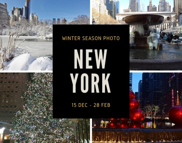 【NEWS】冬季限定フォトプラン in New york《winter season wedding  photo》