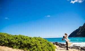 快晴のオアフ島ビーチ撮影! ーマカプゥビーチー