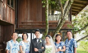 初めてのハワイ、リジェストランドハウスでのお式