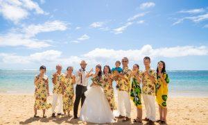 家族と楽しむ結婚式&家族旅行!