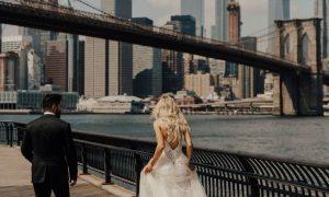 ご新郎様の思い出の地ニューヨーク